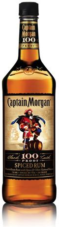 Captain Morgan Rum Spiced 100@